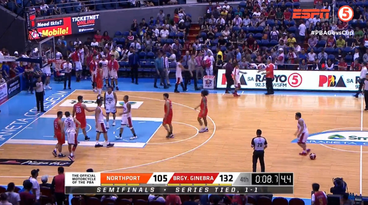 Ginebra def. NorthPort, 132-105 (REPLAY VIDEO) PBA Semis Game 3 | Dec 18