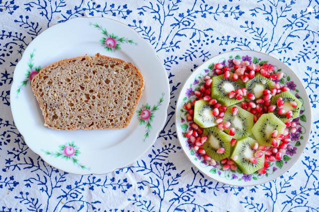 pain au levain petit déjeuner lifestyle