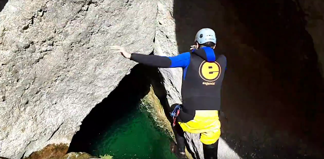 Canyoning & Cliff jumping Catalonia Horta de Sant Joan