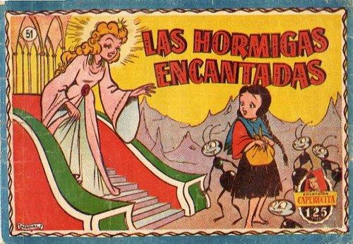 Colección Caperucita nº 51 Bruguera las hormigas encantadas Nadal