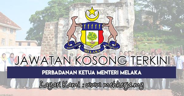 Jawatan Kosong Terkini 2018 di Perbadanan Ketua Menteri Melaka