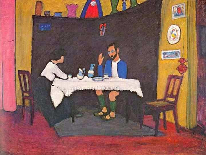 pinturas com kandinsky