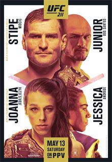 Review of UFC 211 pay-per-view Miocic vs Dos Santos