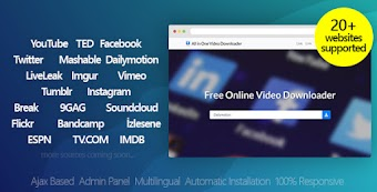 Free Download All in One Video Downloader - Youtube and more