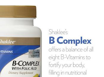 Kebaikan Dan Manfaat B Complex Shaklee