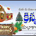 Christmas Greetings telugu Quotes with santa images