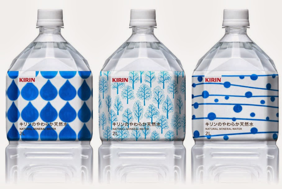 Kirin Natural Mineral Water on Packaging of the World ...