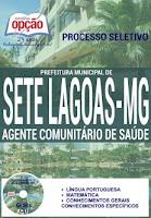 Apostila Prefeitura de Sete Lagoas MG ACS 2016