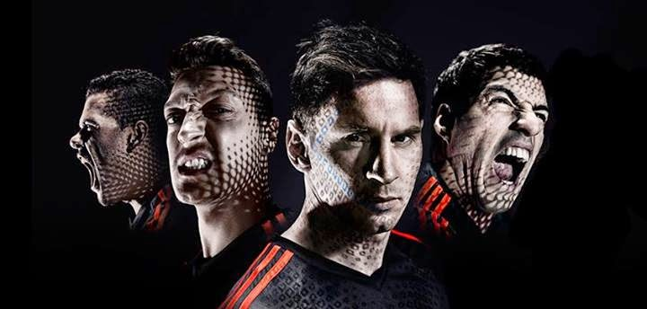 Leo Messi, Oscar.Dani Alves, Luis Suarez, Adidas Battle Pack, 2014 the FIFA World Cup™ Brazil