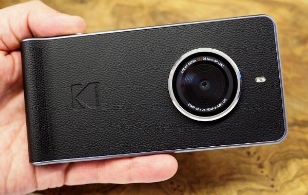 شركة كوداك تطلق هاتفها الذكي الجديد Ektra