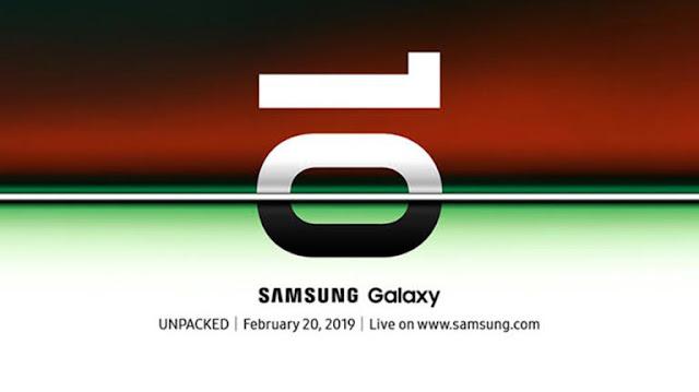 Smartphone Samsung Sebar Undangan Galaxy S10 Dirillis 20 Februari Mendatang