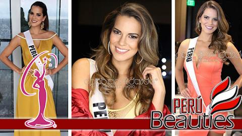 Miss Universe 2016 | Valeria con la banda de Perú