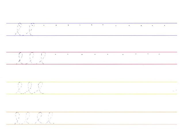 Atividades de Caligrafia para Imprimir