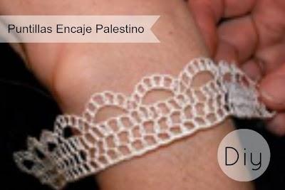 Como hacer Puntillas Encaje Palestino. Tutoriales