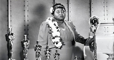 Hattie McDaniel at the Academy Awards ceremony