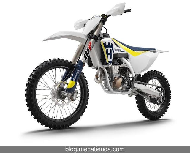 La gama de motocross de Husqvarna consigue control de tracción
