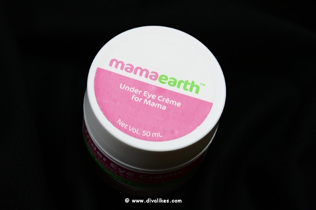 Mamaearth Under Eye Creme Review