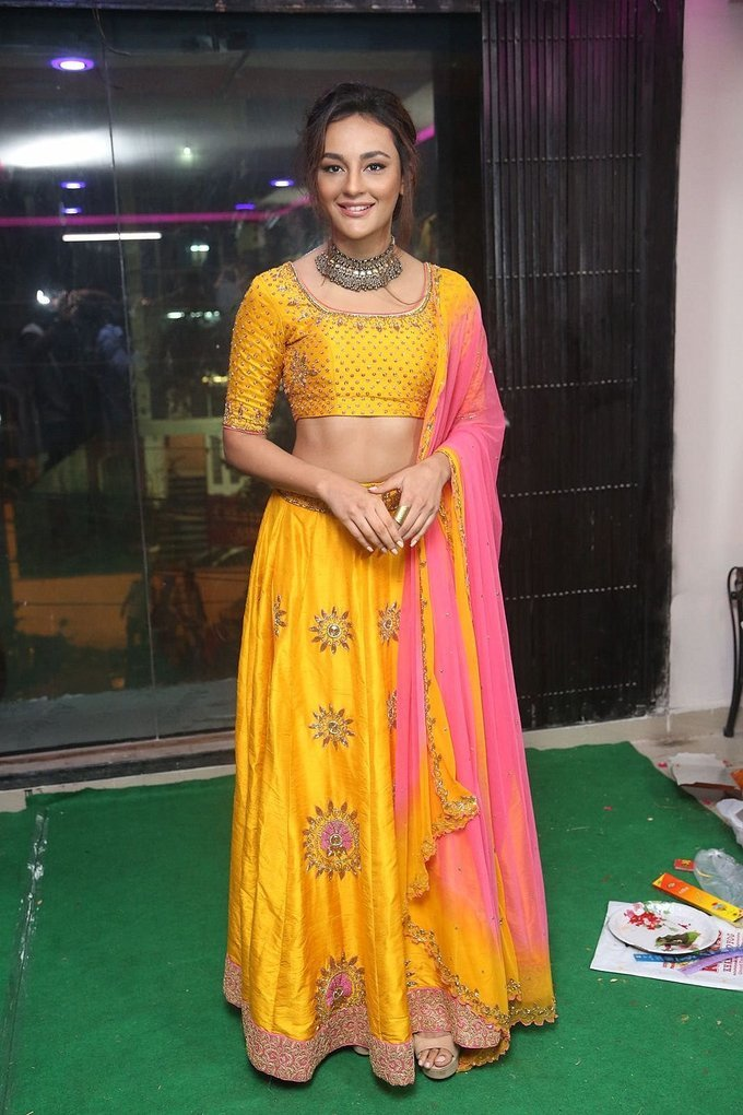 Seerat Kapoor at Akruthi Designer Studio Launch Photo Gallery