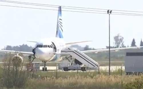 Egyptair hijack man surrenders at larnaca airport - Egyptair airport office number ...