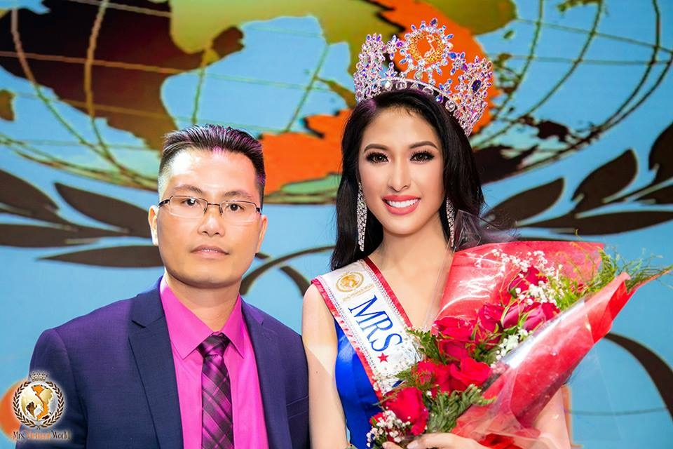 Jennifer Le Crowned as Mrs Vietnam World 2018 | Ask the CROWN