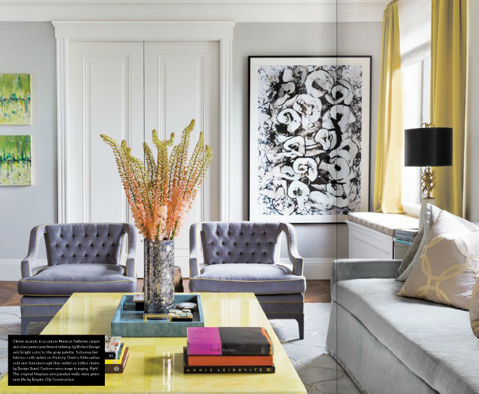 La Dolce Vita A Bold And Glamorous Manhattan Apartment