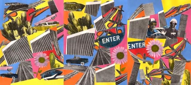 Коллажи и изобразительное искусство. Laurie Raskin 16