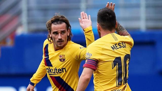 Griezmann, Messi, Suarez Mulai Nongkrong Bareng Biar Lebih Klop