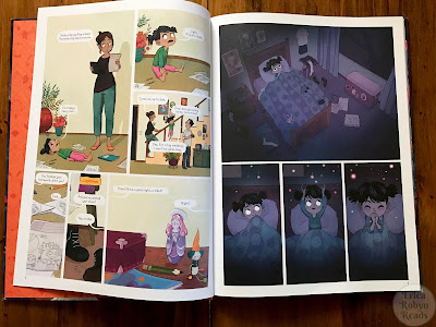 Nightlights by Lorena Alvarez Gomez page spread