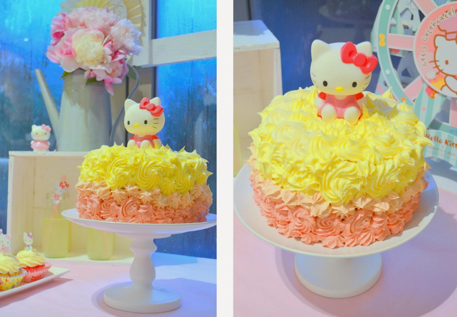Julie Ann Events Hello Kitty Birthday Party Dessert Table