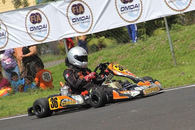 Joshua Betancourt quiere ser protagonista en Izcalli, en el Round 3/4 de FIA México – National Karting Championship – RETO TELMEX