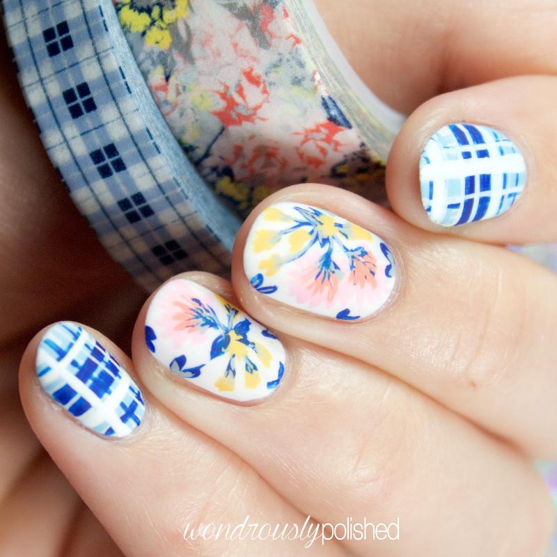 Wondrously Polished Nail Art The Planner Society Washi Series