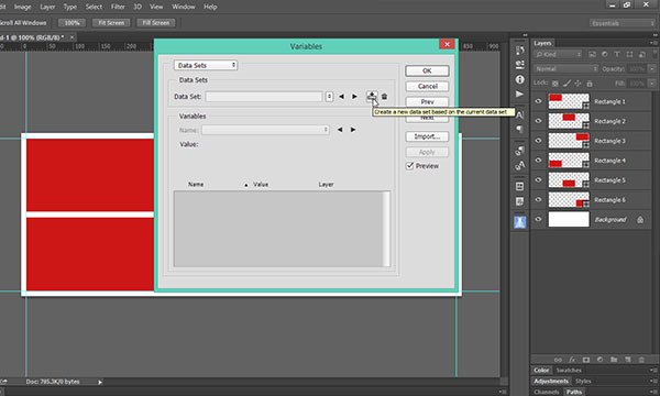 Easy Way to Automate Photoshop with Variables | DesignEasy