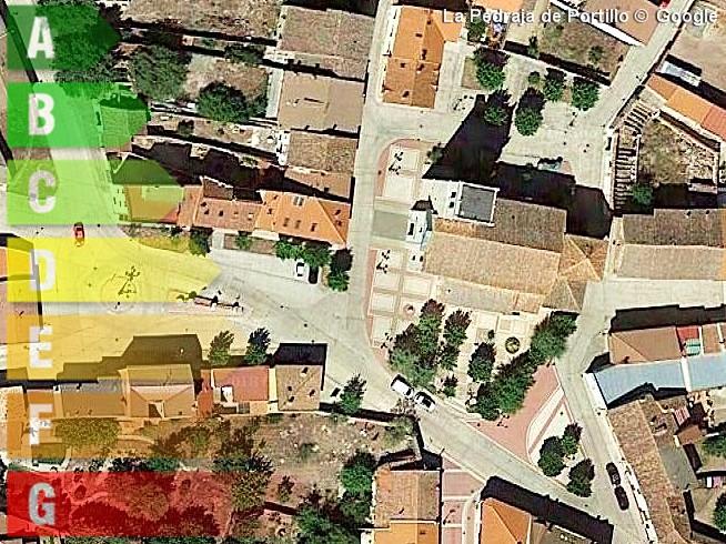 certificado energetico de vivienda y local en la pedraja de portillo