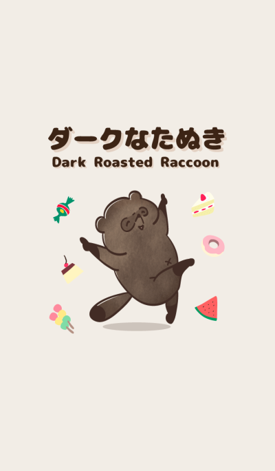 Dark Roasted Raccoon