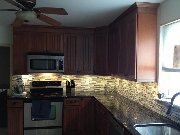 KITCHEN Under Cabinet LIGHTING Wiring Gorgeous Backsplash Lighting