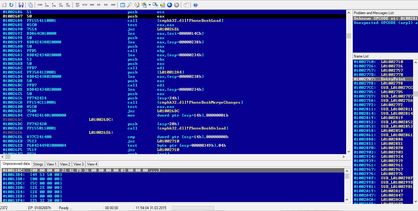 Wikileaks Malware Analysis Continued