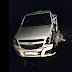 Acidente entre Montana e caminhão leiteiro na PR 565 em Porto Barreiro