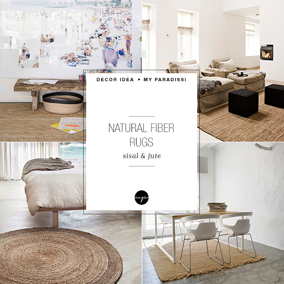 Decor Trend Sisal And Jute Rugs My Paradissi