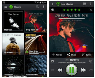 Pemutar Musik Android - PlayerPro Music Player