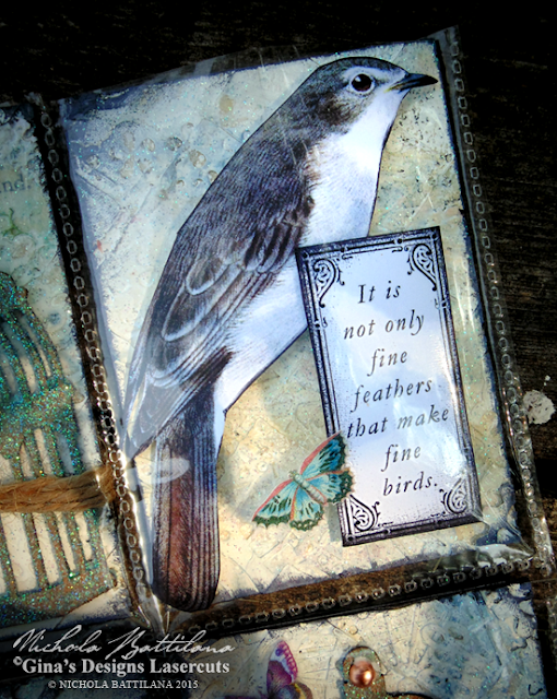 ATC Pocket Letter for GinasDesigns.net - Nichola Battilana