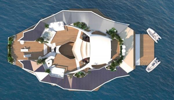 Fabulous yacht island