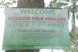 Siquijor folk healing