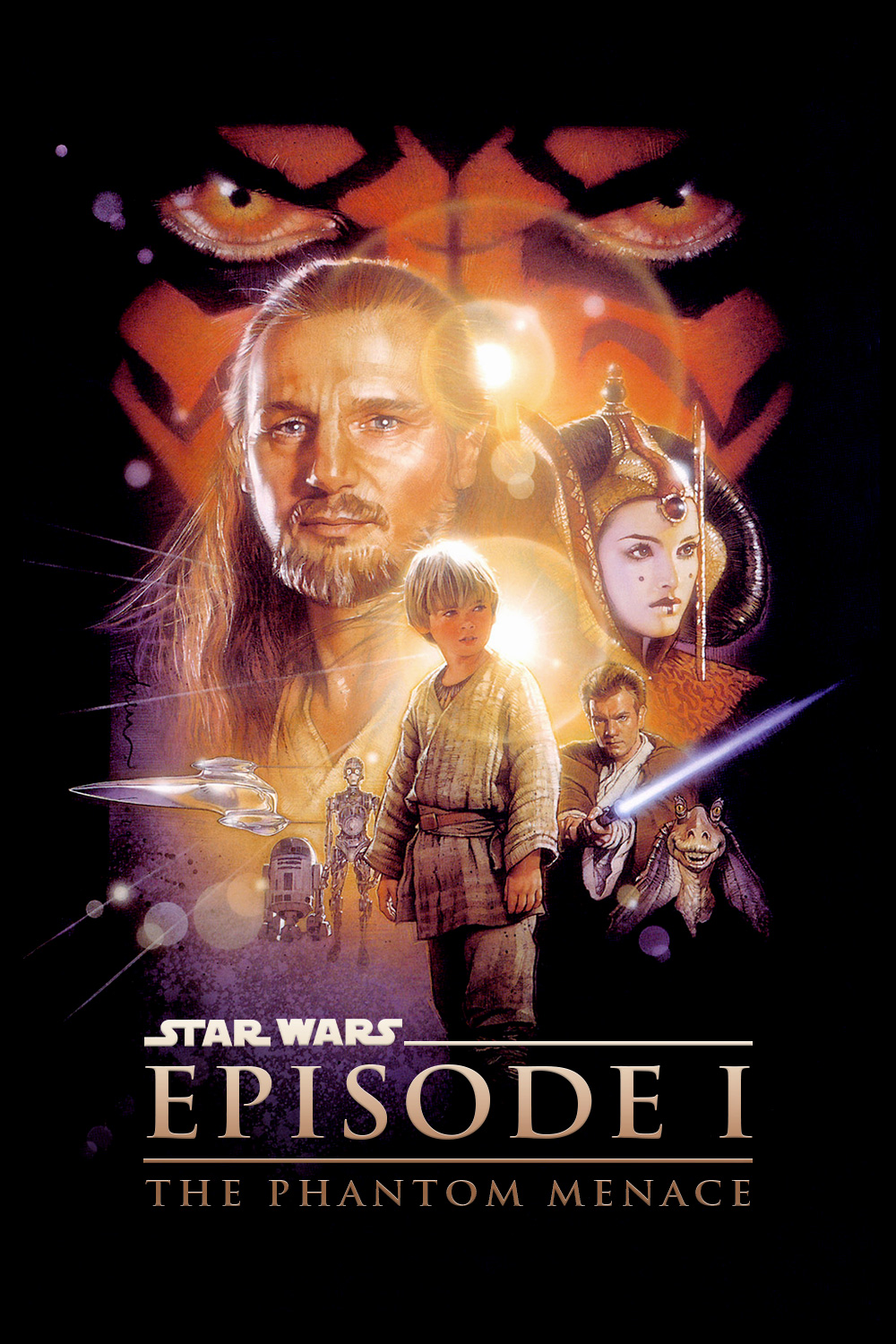 Promotional Episode Material Wars Phantom 1 Menace Star