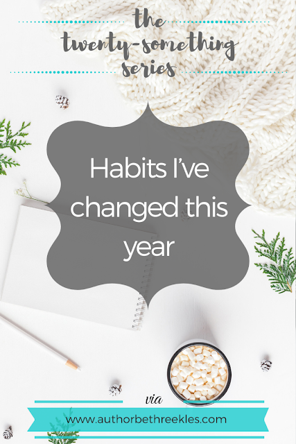 In this post, I reflect on a few good habits I added, bad ones I quit, and habits I'd like to change for the new year.