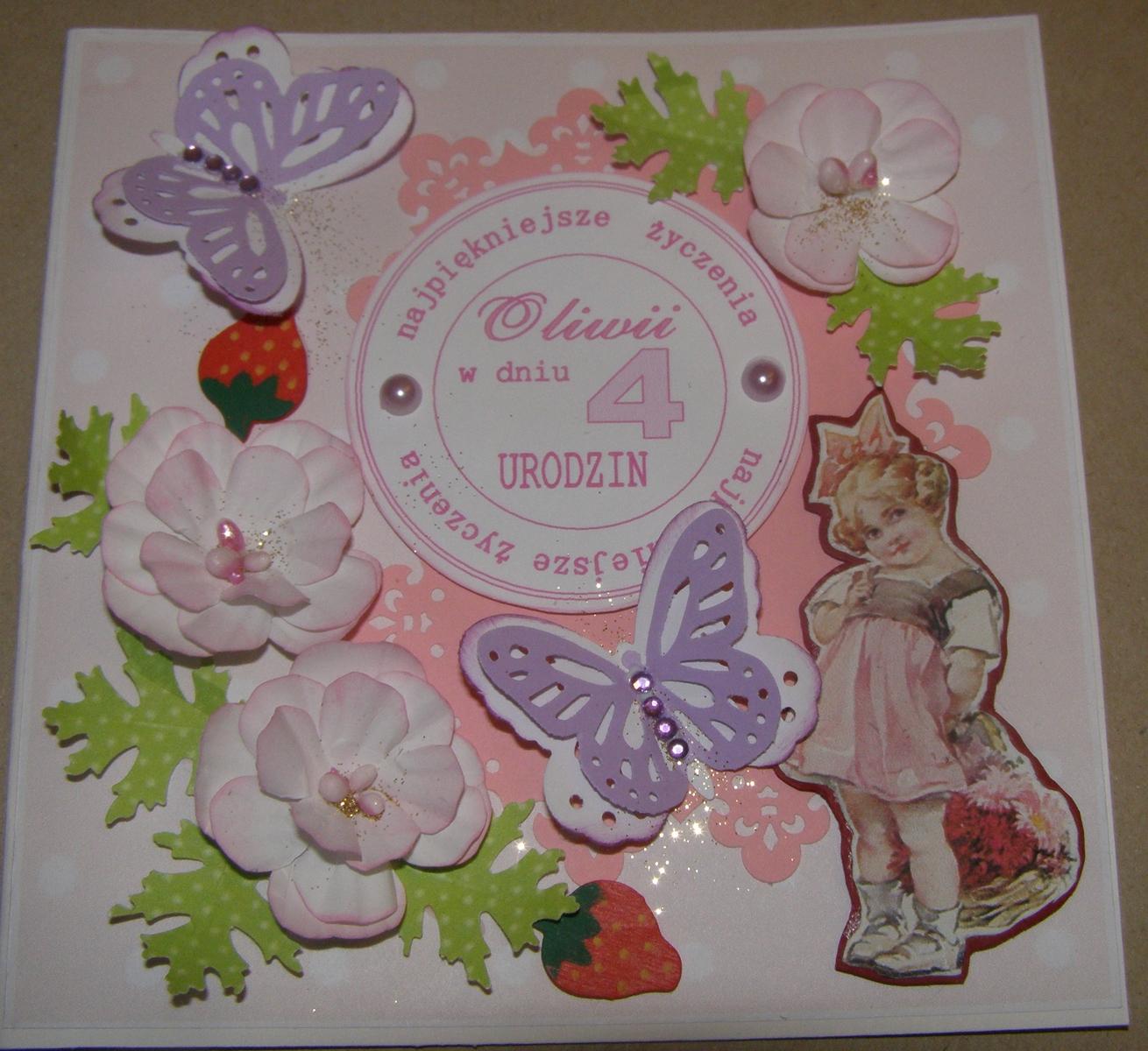 bella tessera  kartki urodzinowe dla dzieci