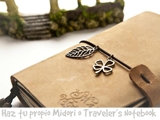 como hacer midoris, traveler's, notebook, cuaderno de campo