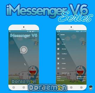BBM MOD Doraemon APK versi terbaru 2.13.1.14 dan versi Lama
