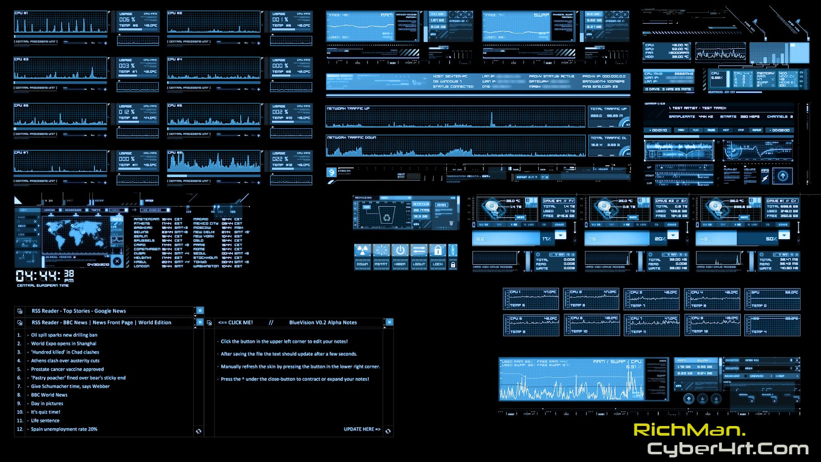 Template Hacker For Windows 7
