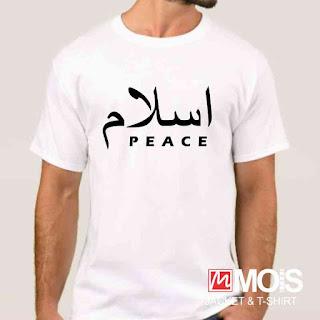 kaos dakwah islami peace damai