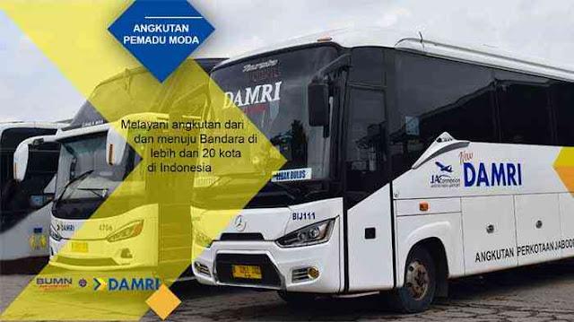 Tiket Damri Jakarta Lampung Mudik Lebaran 2020